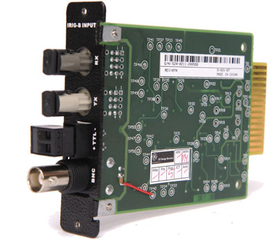 Picture of D400 Irig-B Input Card